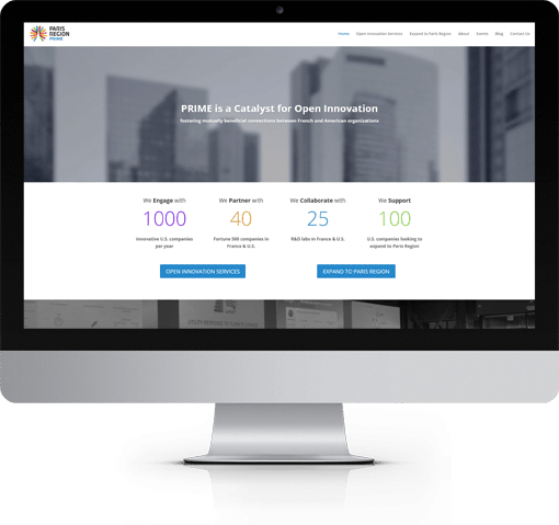 Site Innovation Prime, version bureau