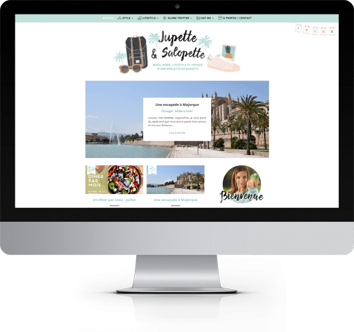 Site Jupette & Salopette, version bureau