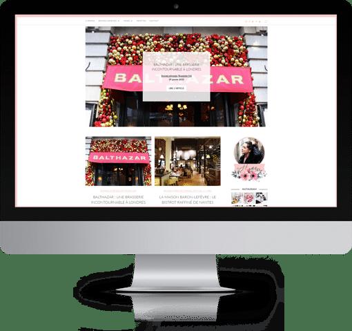 Site Caroline OVRD - LE BLOG, version bureau