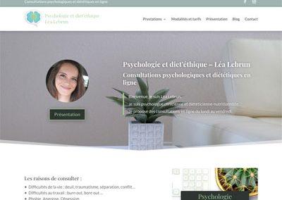 Psychologie et diet'éthique