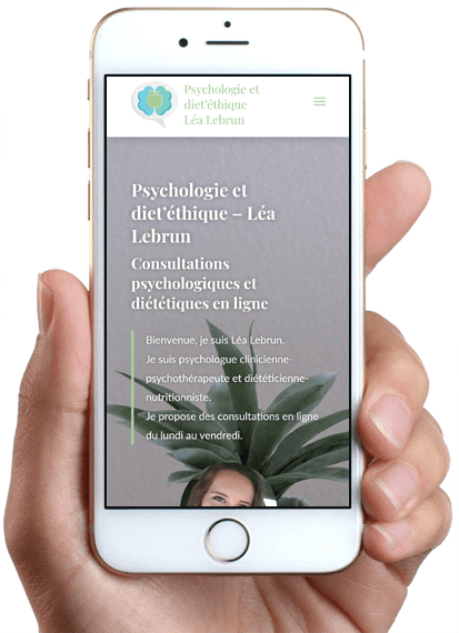 Psychologie et diet'éthique - Léa Lebrun, version mobile
