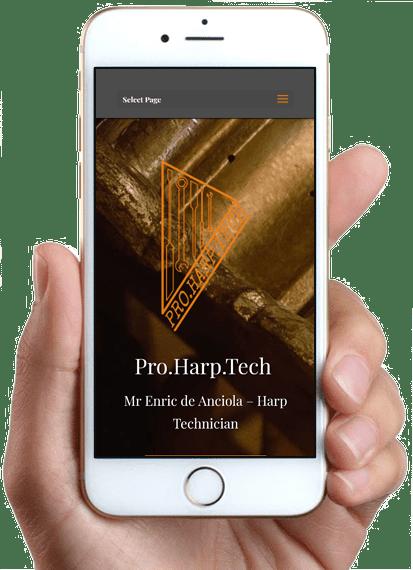 Pro.Harp.Tech, version mobile