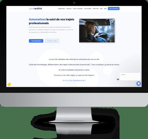GeoWallet, version bureau