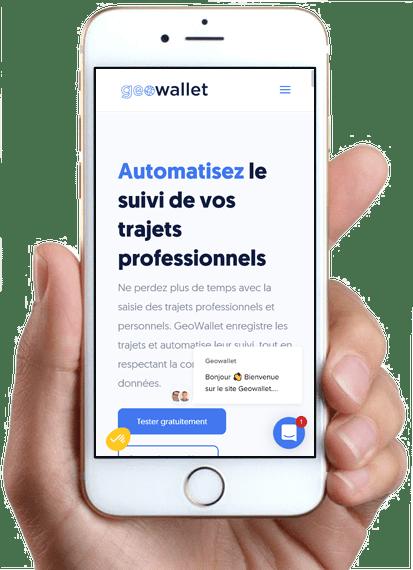 GeoWallet, version mobile